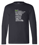 Picture of Bayside - USA-Made Long Sleeve T-Shirt (6100) (W)